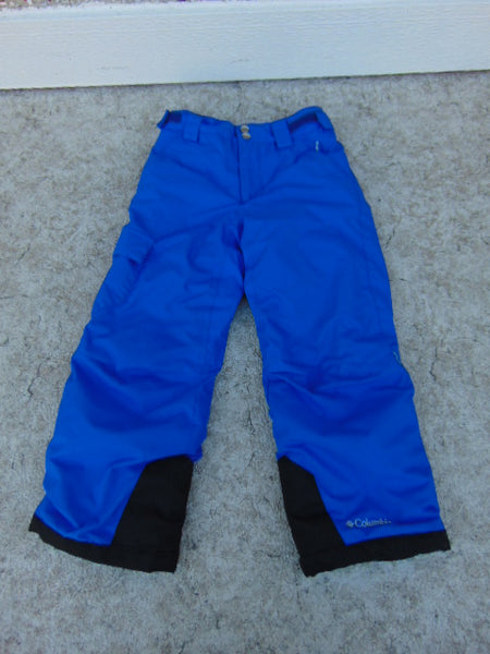 Snow Pants Child Size 6-7 Columbia Bugaboo Blue Minor Wear