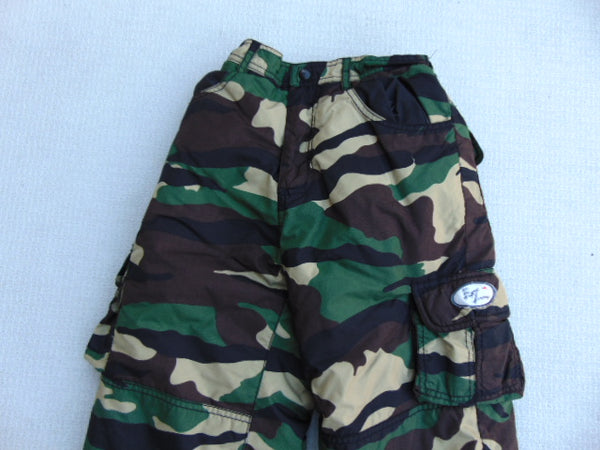 Snow Pants Child Size 6 Extreme Camo Print