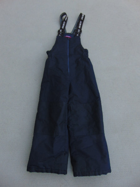 Snow Pants Child Size 6 Gusti Marine Blue Pink With Bib New Demo Model