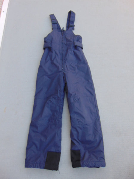 Snow Pants Child Size 7-8 Columbia Purple With Bib Snowboarding Minor Wear on Cuffs