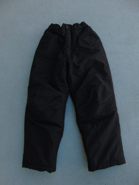 Snow Pants Child Size 8 Alpine Black Snowboarding