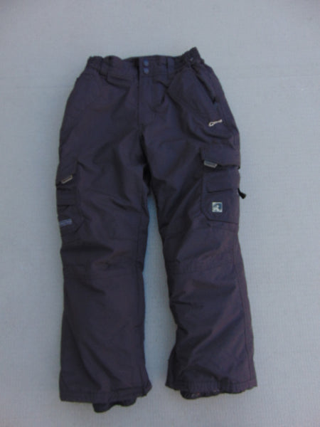 Snow Pants Child Size 8 Ripzon Brown Snowboarding