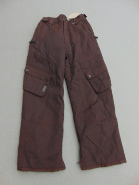 Snow Pants Child Size 10 FireFly Brown Excellent