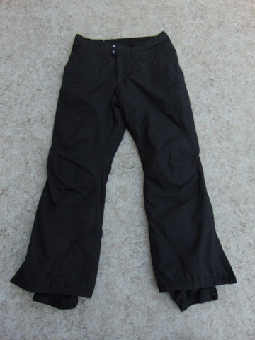 Snow Pants Ladies Size Small Columbia Black Snowboarding New Demo Model