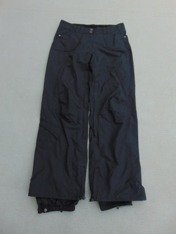 Snow Pants Ladies Size Small PowderRoom Snowboarding Black