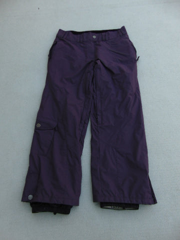 Snow Pants Ladies Size Small Powder Room Plum Purple Snowboarding  Waist 30-32 inch Leg 30 inch