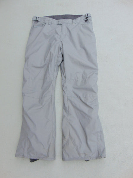 Snow Pants Ladies Size X Large Columbia Snowboarding Grey With Side Pannels