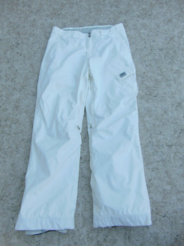 Snow Pants Ladies Size X Large Helly Hansen White Snowboarding New Demo Model
