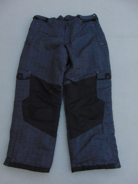 Snow Pants Men's Size 2 XX Large Alpine Tek Micro Fleece Lined Inside Black New Demo Model