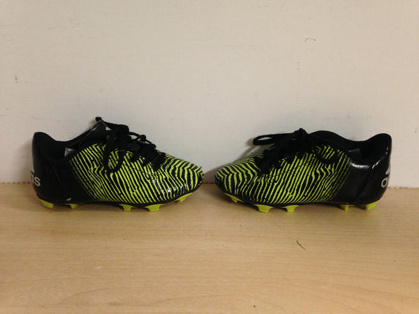 Soccer Shoes Cleats Child Size 11 Adidas Black Green