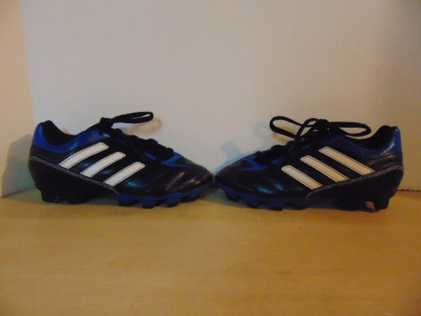 Soccer Shoes Cleats Child Size 13 Adidas Black Blue