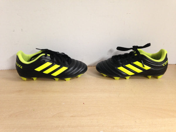 Soccer Shoes Cleats Child Size 13 Adidas Copa Lime Black Excellent