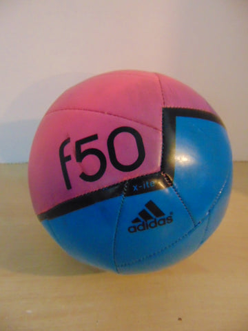 Soccer Ball Adidas F50 Blue Pink Excellent