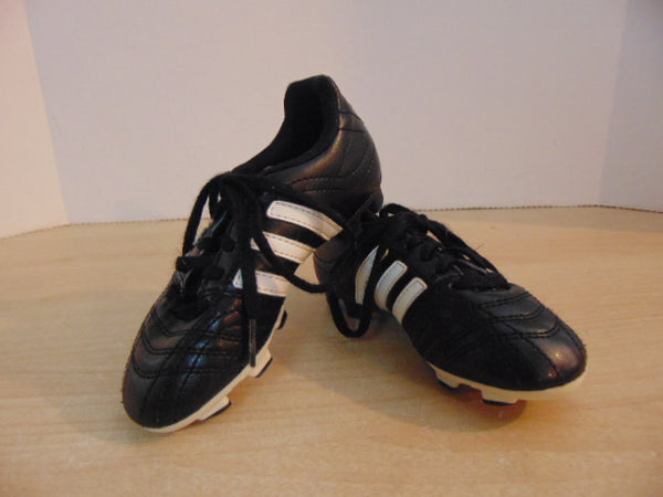 Soccer Shoes Cleats Child Size 11 Adidas Black White