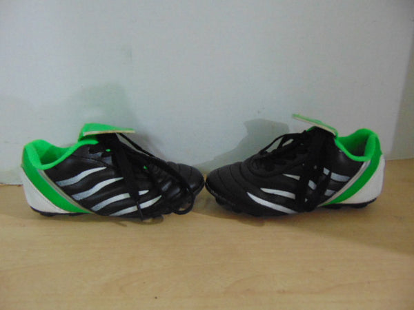 Soccer Shoes Cleats Child Size 9 Toddler Athletic Black Green