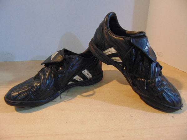 Soccer Shoes Cleats Indoor Child Size 4.5 Adidas Black White