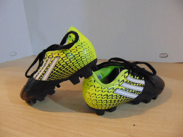Soccer Shoes Cleats Child Size 10 Adidas Black Green