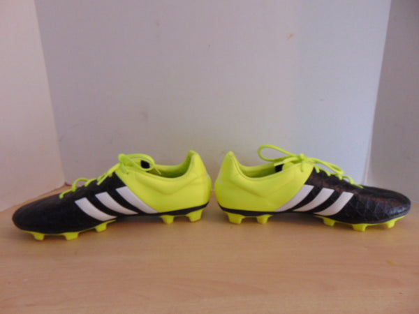 Soccer Shoes Cleats Men's Size 11.5 Adidas Black Yellow New Demo Model