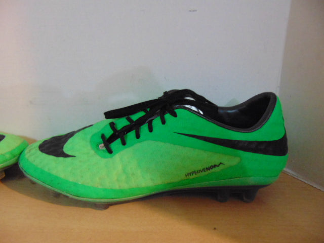 new products d315f 8618a Soccer Shoes Cleats Men's Size 7.5 Nike Hypervenom Green Black Minor Marks
