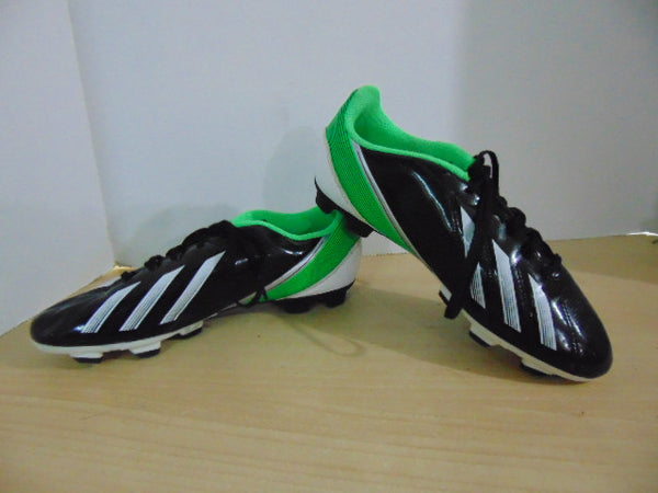 Soccer Shoes Cleats Men's Size 6 Adidas F50 Black Green