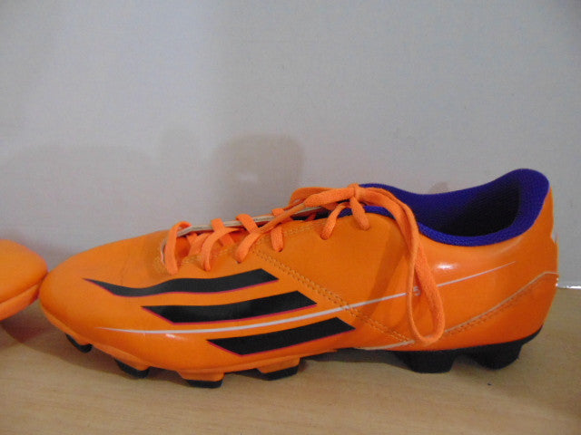 86ab4c49ab1 Soccer Shoes Cleats Men s Size 7 Adidas Orange Purple Black ...