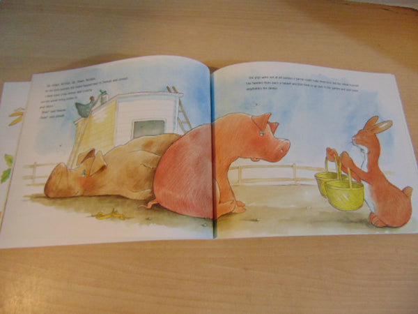 Margie Palatini Oink  Soft Cover Book.