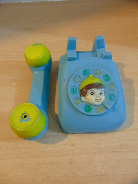 1960's Vintage Plastic Squeeky Baby Telephone 6 inches Perfect Squeeker