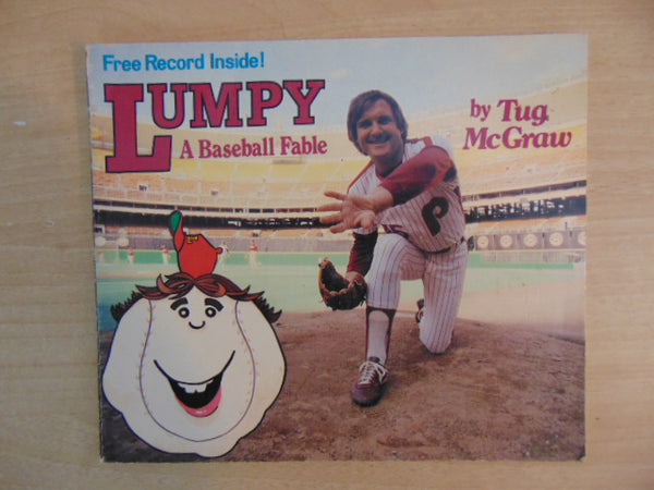 Vintage Children's Book 1981 Tug McGraw Lumpy A Baseball Fable Tim McGraw Father