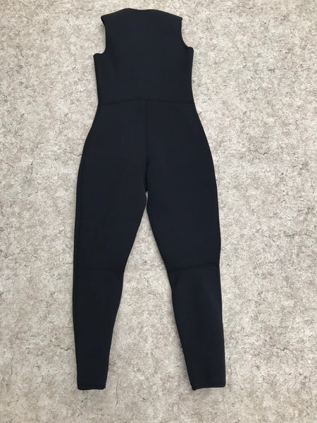 Wetsuit Ladies Size 9-10 Full John Bare Black 3 mm Surf Ski