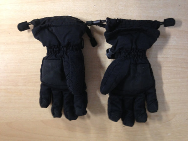 Winter Gloves and Mitts Child Size 7-10 Head Black Excellent