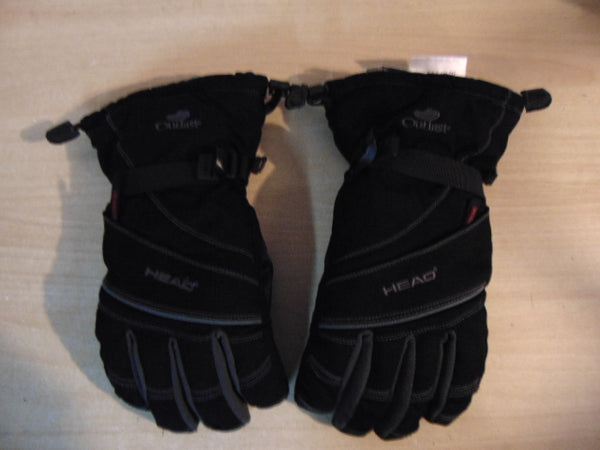 Winter Gloves and Mitts Child Size 12-14 Head Black Grey Snowboarding Quality