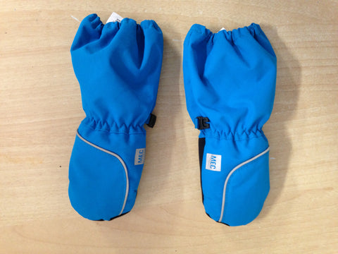 Winter Gloves and Mitts Child Size 1-3 Infant MEC Aqua Blue  Waterproof Excellent Snowboarding