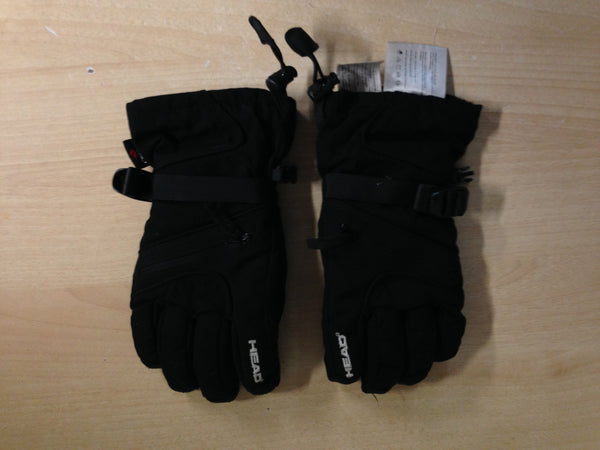 Winter Gloves and Mitts Child Size 12-14 Head Black Excellent