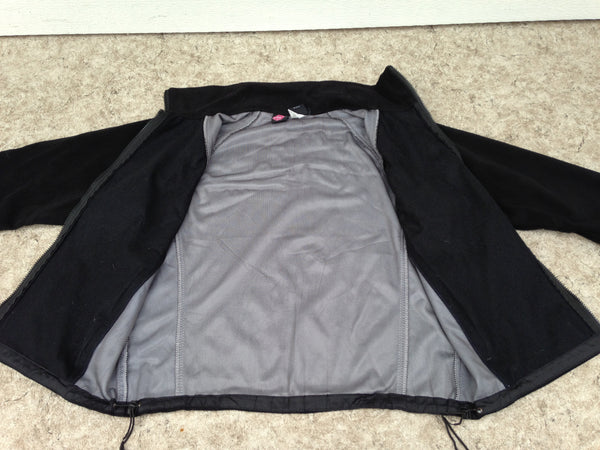 Winter Coat Ladies Size Large The North Face Wind Stopper Fleece Jacket Black Excellent