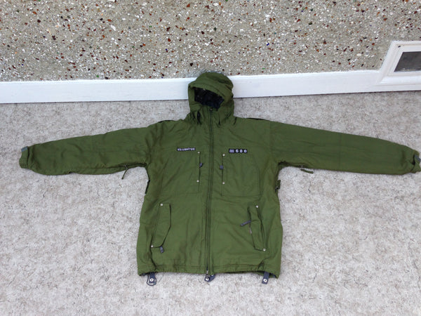 Winter Coat Men's Size X Large 686 Snowboarding With Snow Belt Hunter Green Minor Wear Outstanding Quality