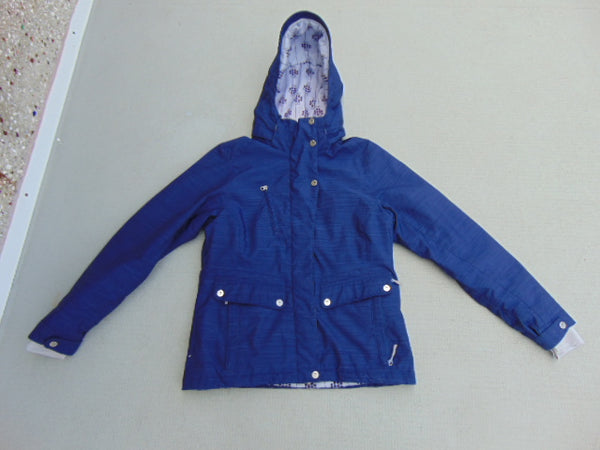 Winter Coat Ladies Size Medium Firefly With Snow Belt Snowboarding Deep Purple Excellent