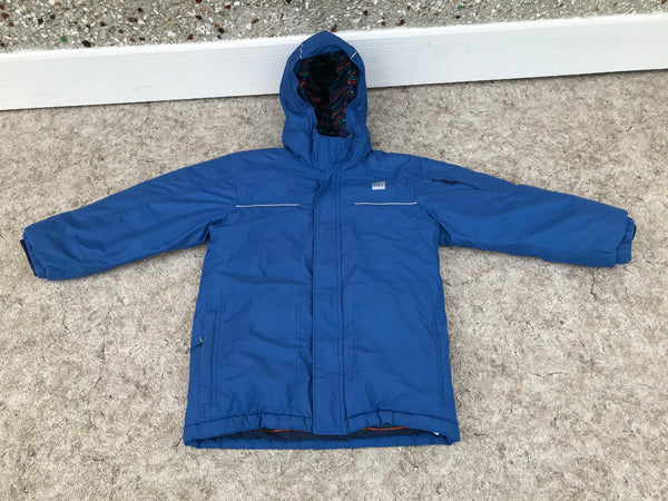Winter Coat Child Size 8 MEC Parka Blue Navy Fantastic Quality