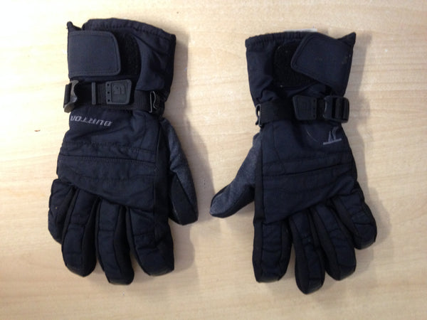 Winter Gloves and Mitts Men's Size Large Burton Black Minor Wear