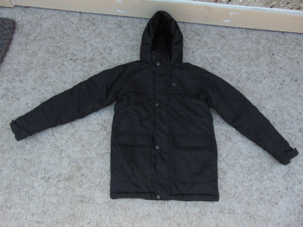 Winter Coat Child Size 14 MEC Parka Smoke Grey Excellent As New
