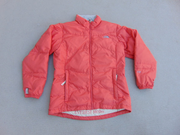 Winter Coat Child Size 14 The North Face Everest 8850 Goose Down Filled 550 Apricot Cream