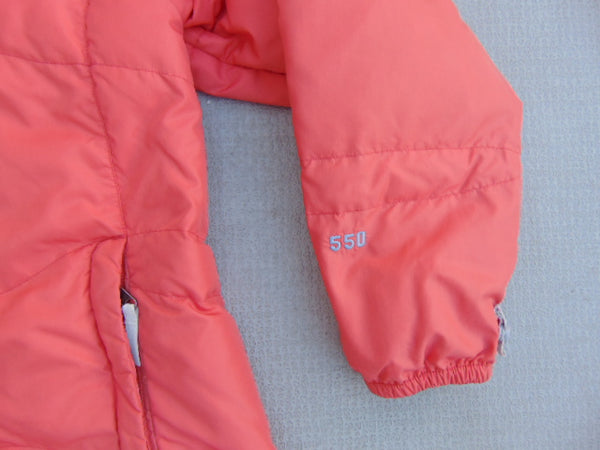Winter Coat Child Size 14 The North Face Everest 8850 Goose Down Filled 550 Nectarine Color