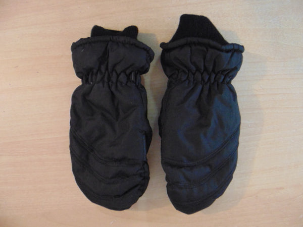 Winter Gloves and Mitts Child Size 10-12 Black