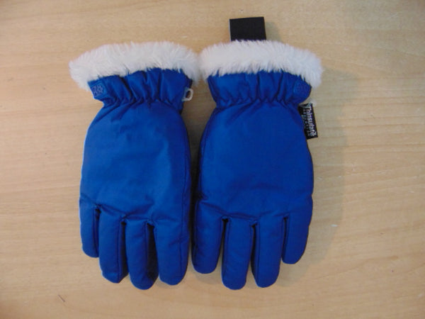 Winter Gloves and Mitts Child Size 10-14 The Children's Place Blue White