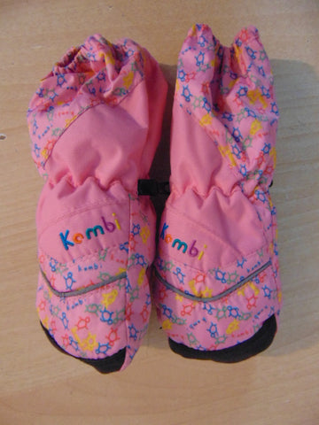 Winter Gloves and Mitts Child Size 2-3 Kombi Pink Multi As New