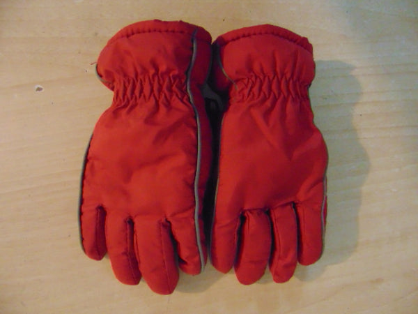 Winter Gloves and Mitts Child Size 2-3 Red Made In Germany