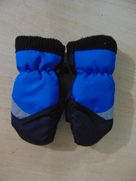 Winter Gloves and Mitts Child Size 2-4 Blue Navy