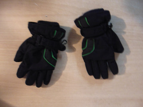 Winter Gloves and Mitts Child Size 6-8 Navy Green