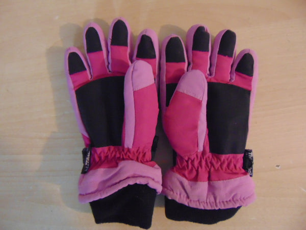 Winter Gloves and Mitts Child Size 7-9 Joe Black Pink