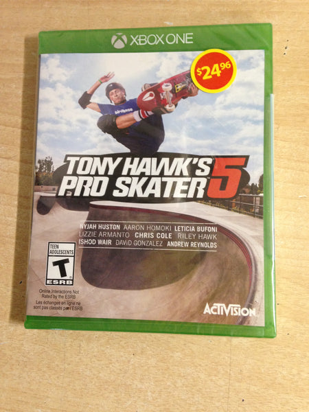 XBOX ONE GAME Tony Hawk's Pro Skater 5 NEW SEALED
