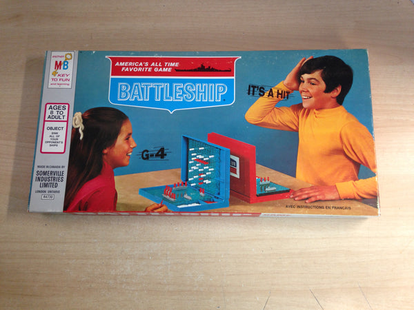Y Game Battleship Vintage 1971 Complete Excellent Condition